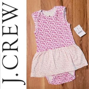 NWT Baby J. Crew Onesie with Skirt
